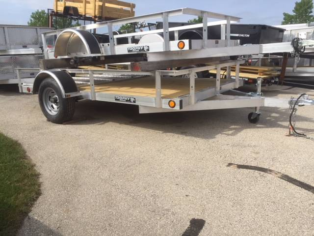 2018 Trophy Trailers AL 6.5X10 TI in Francis Creek, Wisconsin