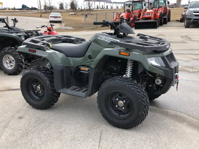 2017 Arctic Cat Alterra 400 in Francis Creek, Wisconsin