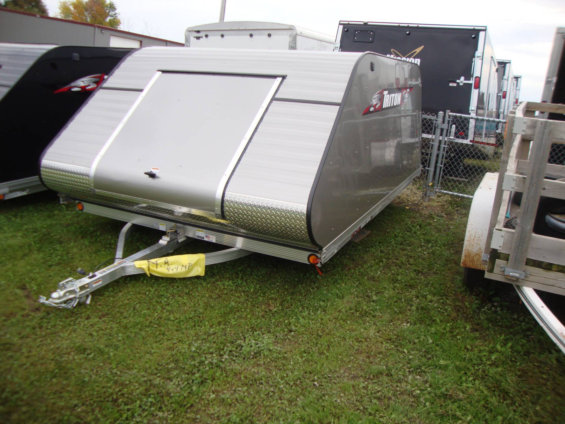 2017 Triton Trailers XT11-101-SQ in Francis Creek, Wisconsin