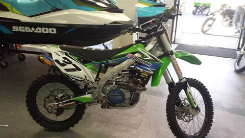 2015 Kawasaki KX450F in Yakima, Washington