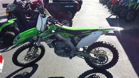 2015 Kawasaki KX 450 in Yakima, Washington
