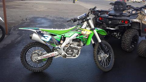 2015 Kawasaki KX 250F in Yakima, Washington
