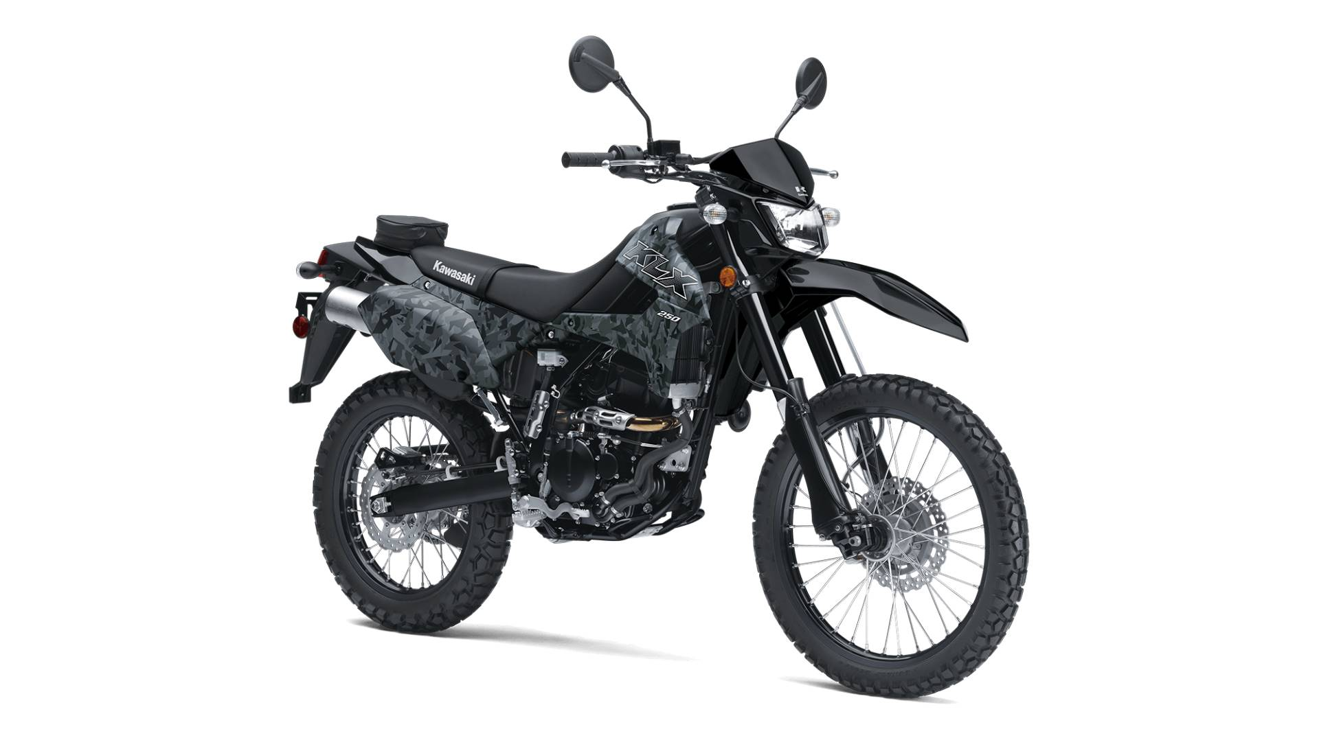 2020 Kawasaki KLX 250 CAMO in Yakima, Washington