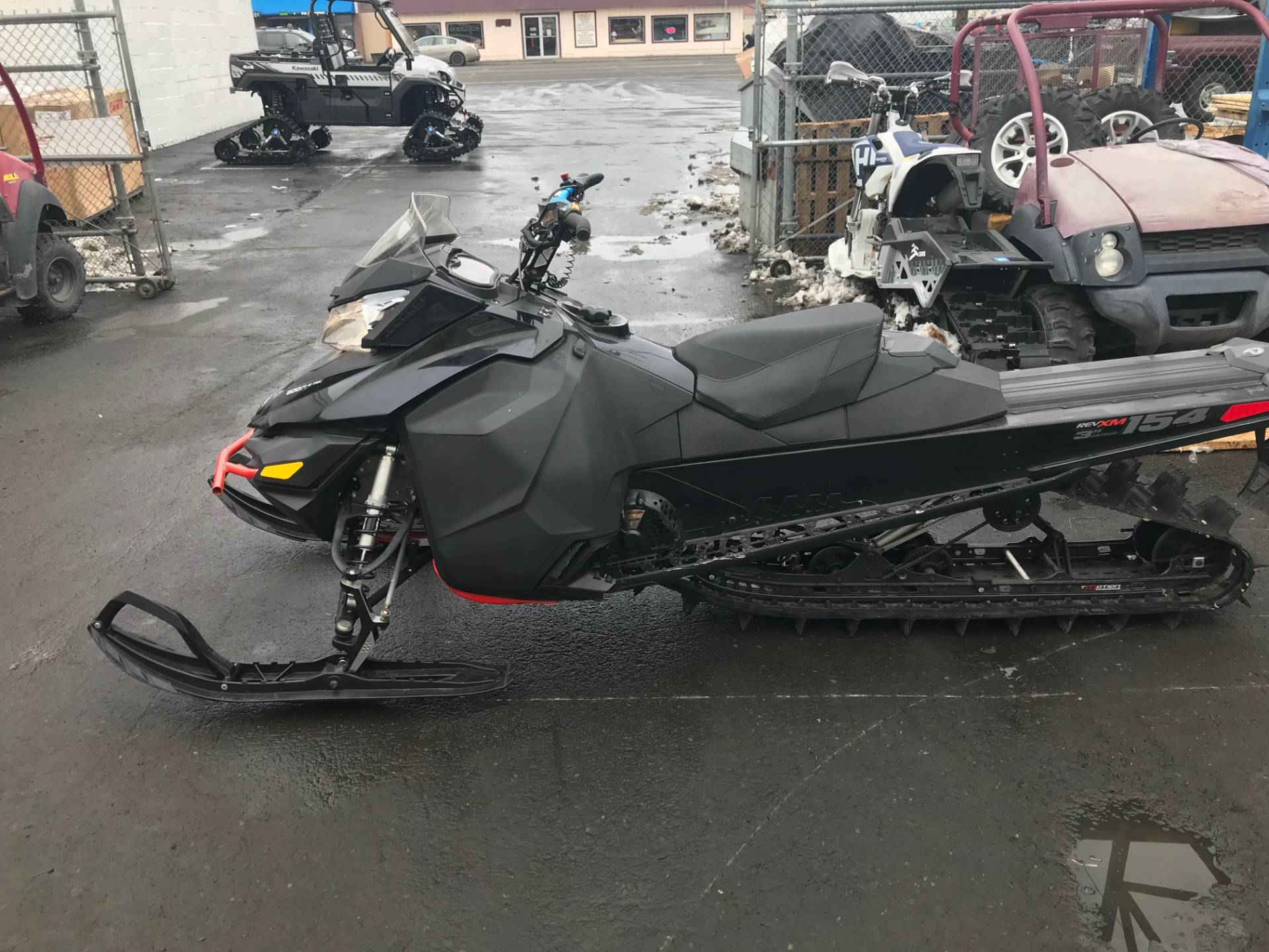 2016 Ski-Doo SUMMIT SP-T3 154 800R E-TEC in Yakima, Washington