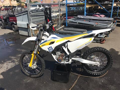 2015 Husqvarna FC 350 in Yakima, Washington