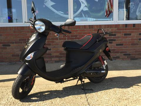 2017 Genuine Scooters Buddy Eclipse 50 in Southampton, New York