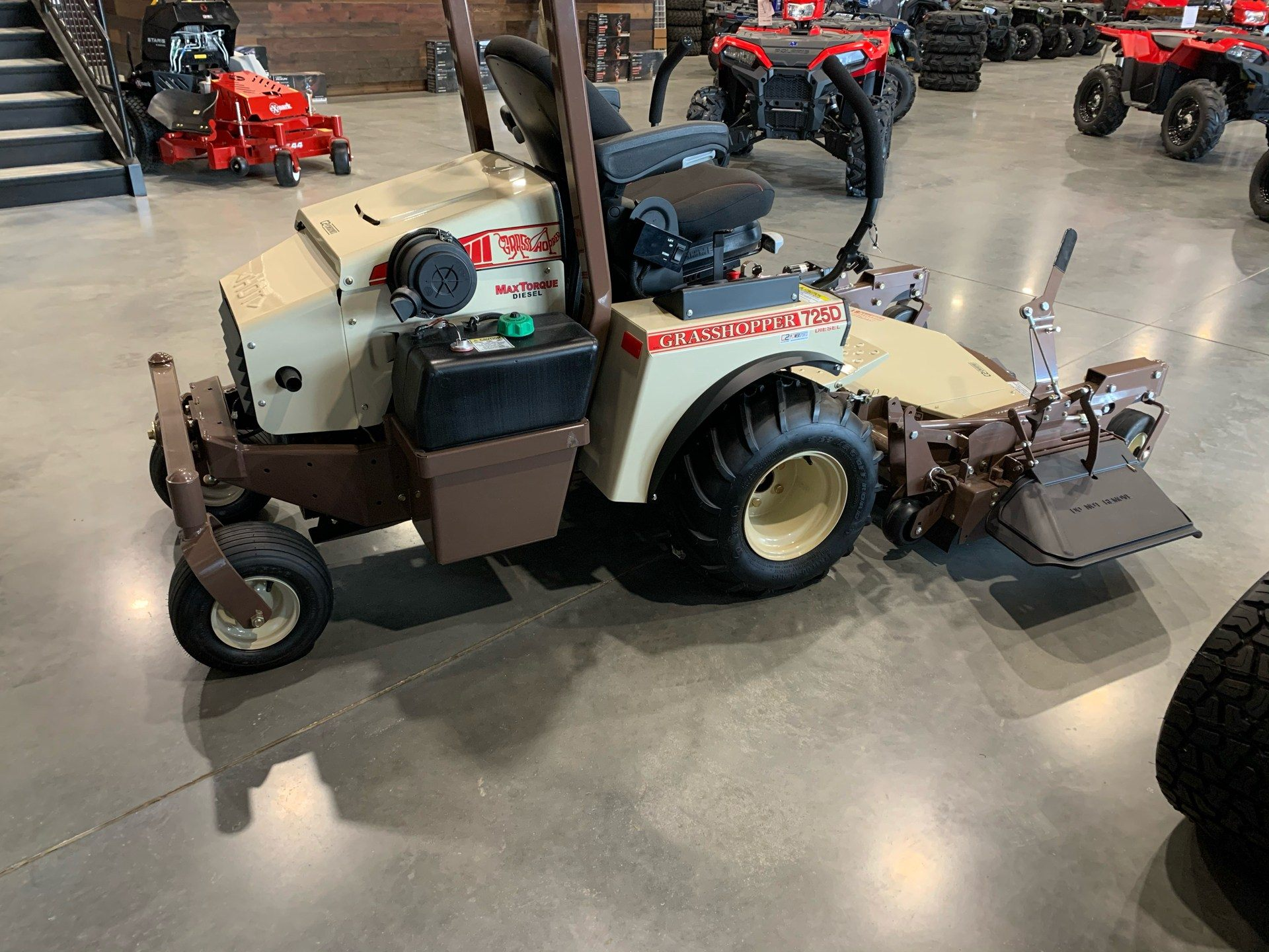 2019 Grasshopper 725DT6 in Conway, Arkansas - Photo 4