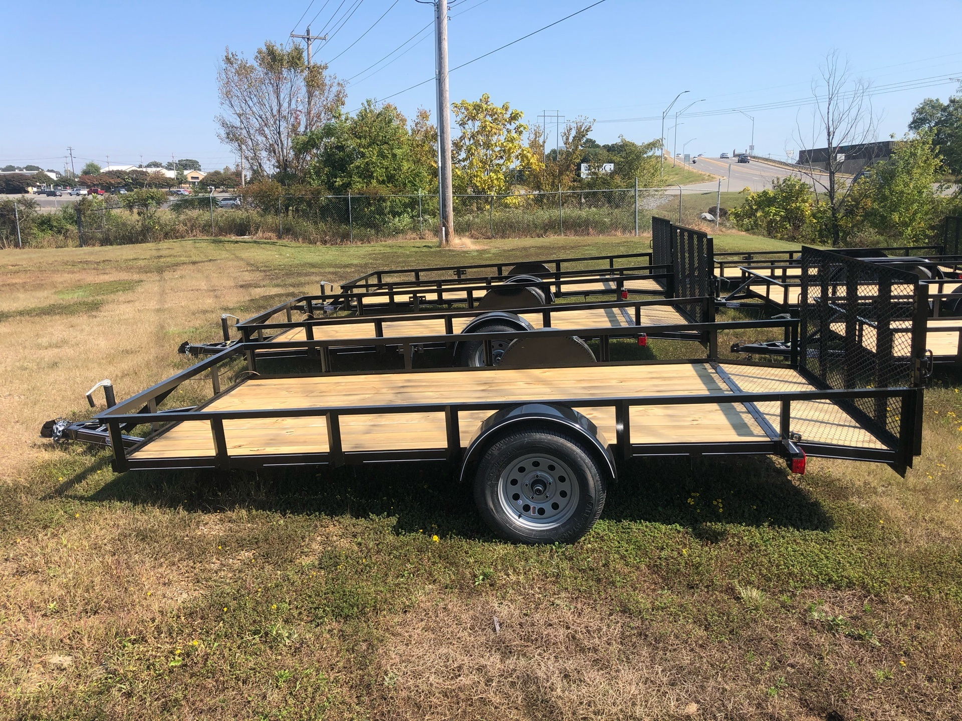 2020 Precision Trailers 77X14 in Conway, Arkansas