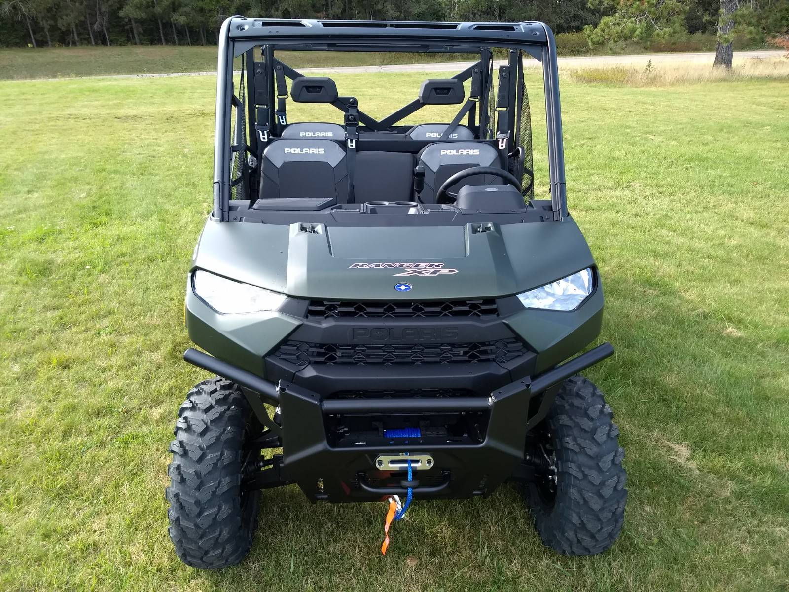 2020 Polaris Ranger Crew XP 1000 Premium Winter Prep Package in Three Lakes, Wisconsin - Photo 2