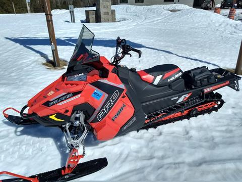 2016 Polaris 600 PRO-RMK 155 SnowCheck Select in Three Lakes, Wisconsin