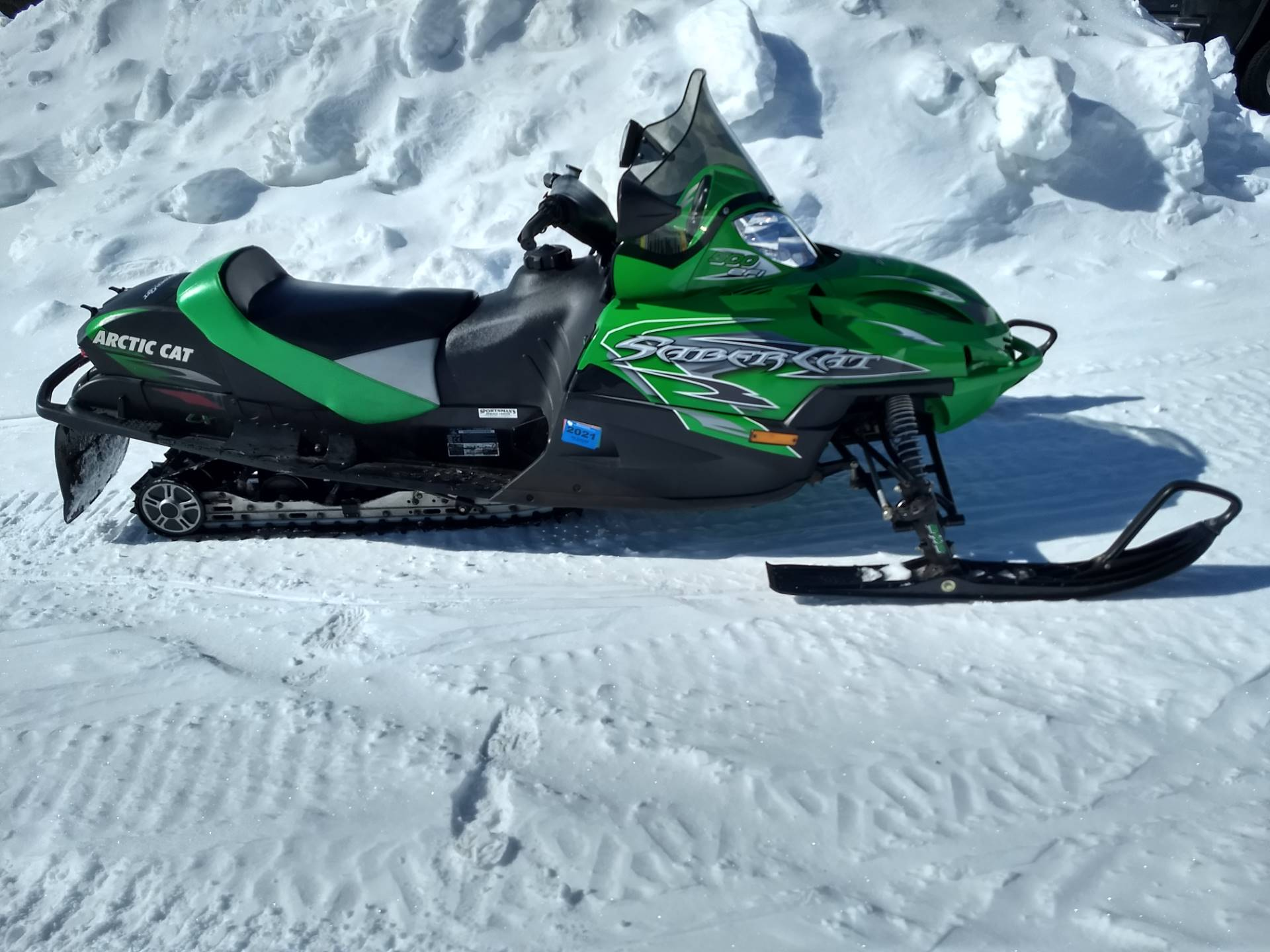 2006 Arctic Cat Trail Performance Sabercat 500 EFI LX in Three Lakes, Wisconsin - Photo 1