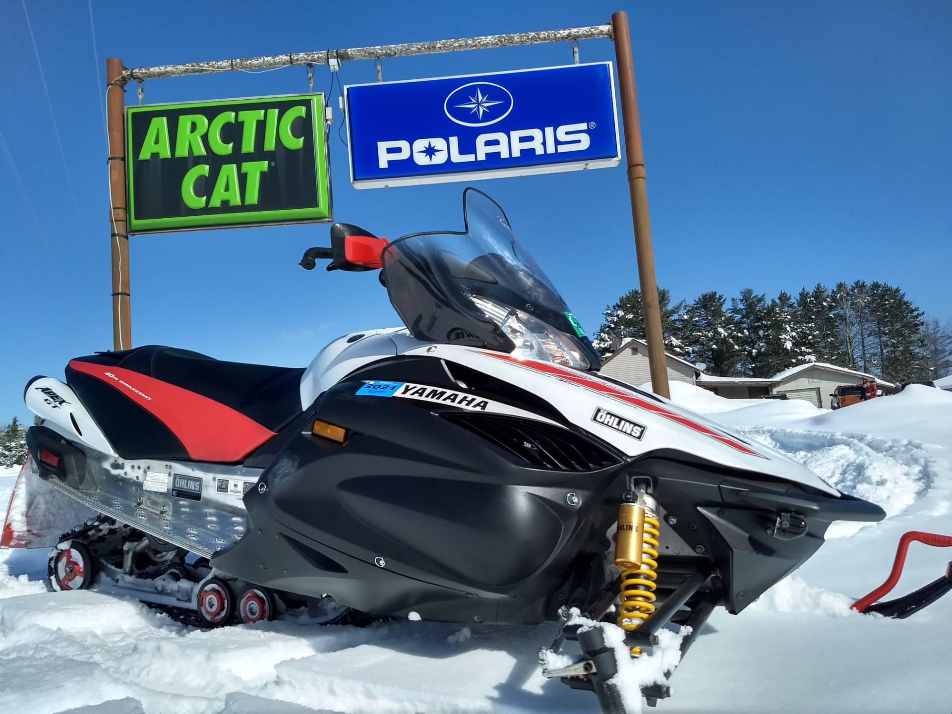 2008 Yamaha Apex GT in Three Lakes, Wisconsin - Photo 1
