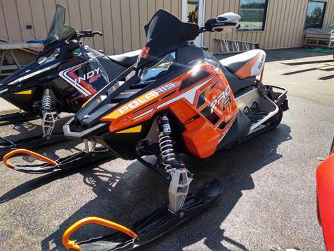 2012 Polaris 600 Rush PRO-R SC Orange in Three Lakes, Wisconsin
