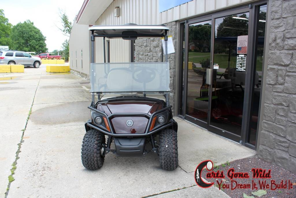 2018 Yamaha Fuel Injected Adventurer Golf Cart in Haubstadt, Indiana