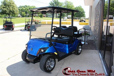 2018 Yamaha Fuel Injected Quietech Drive2 Golf Cart in Haubstadt, Indiana