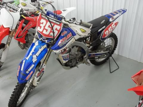 2011 Yamaha YZ450F in Bristol, Virginia