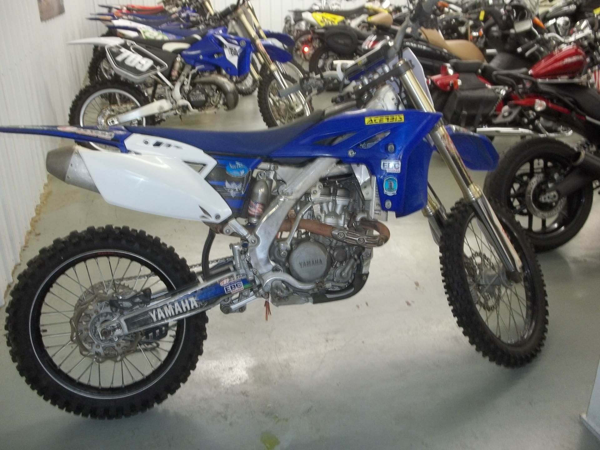 2012 Yamaha YZ 250FX in Bristol, Virginia