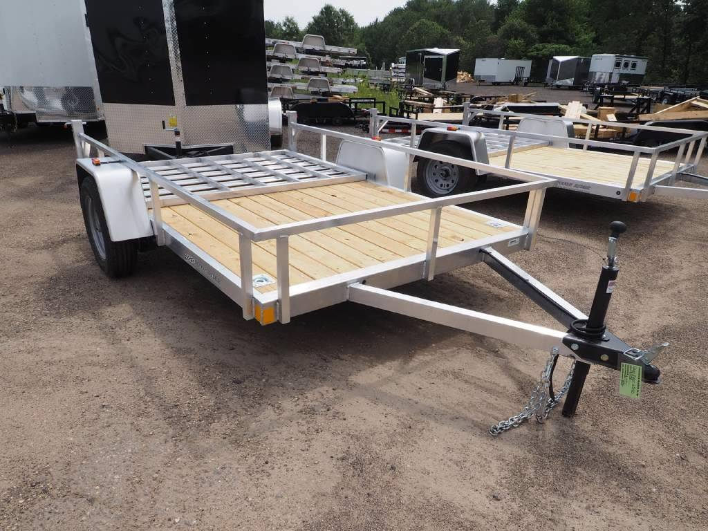 2018 Rough Rider Aluminum 10' Trailer RRU6510SA