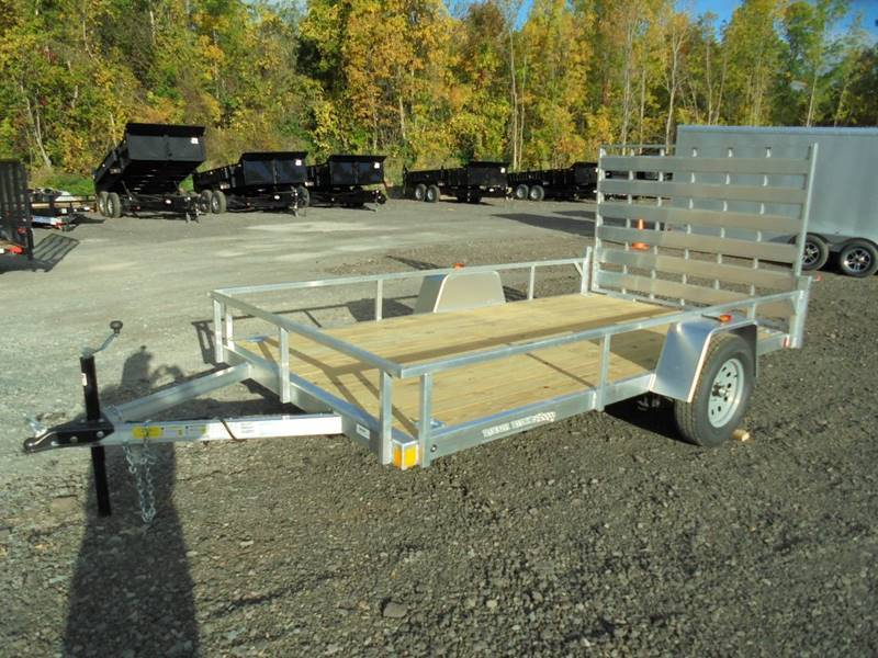 2018 Rough Rider RRU6512SA Aluminum 12' Trailer