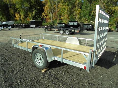 2018 Other Rough Rider RRU6512SA Aluminum 12' Trailer in Howell, Michigan - Photo 3