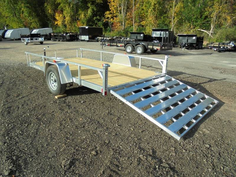 2018 Other Rough Rider RRU6512SA Aluminum 12' Trailer in Howell, Michigan - Photo 9
