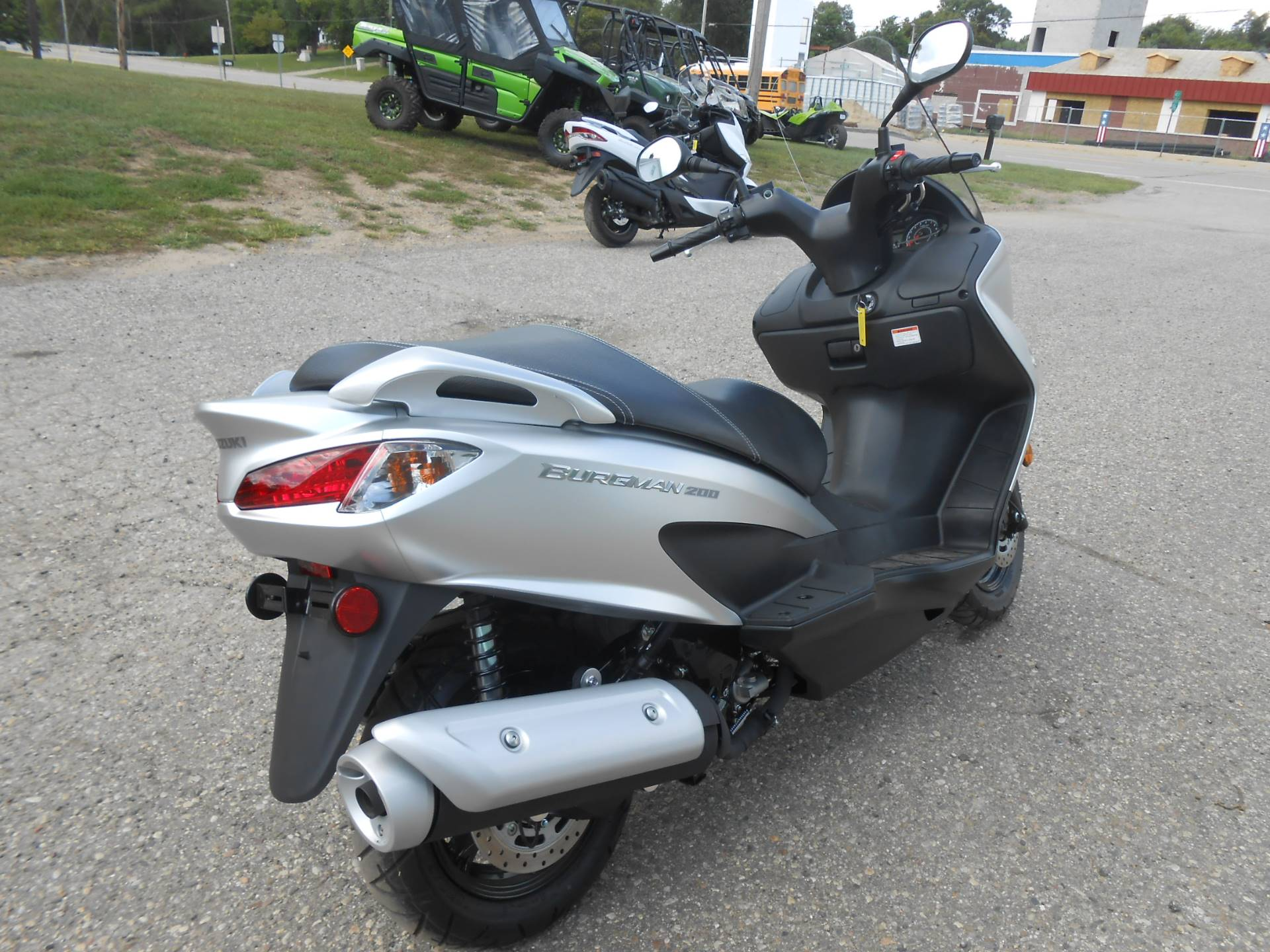 2018 Suzuki Burgman 200 in Howell, Michigan - Photo 5