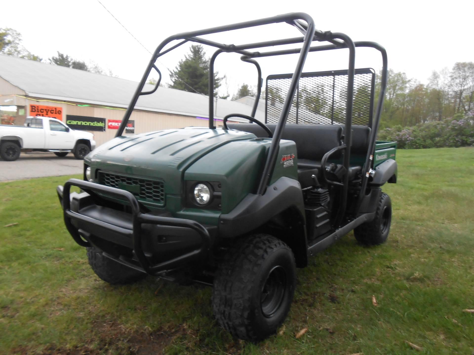2012 Mule 4010 Trans4x4 Diesel