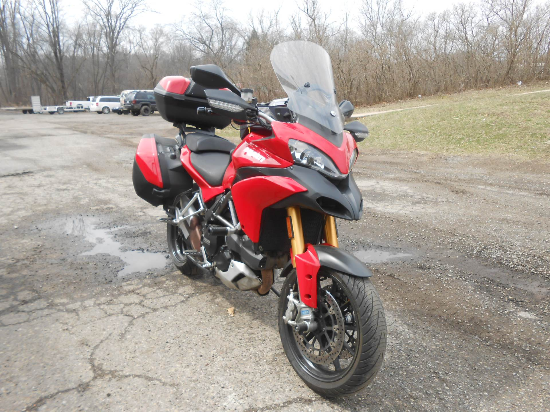 2011 Ducati Multistrada 1200 S Touring in Howell, Michigan - Photo 5