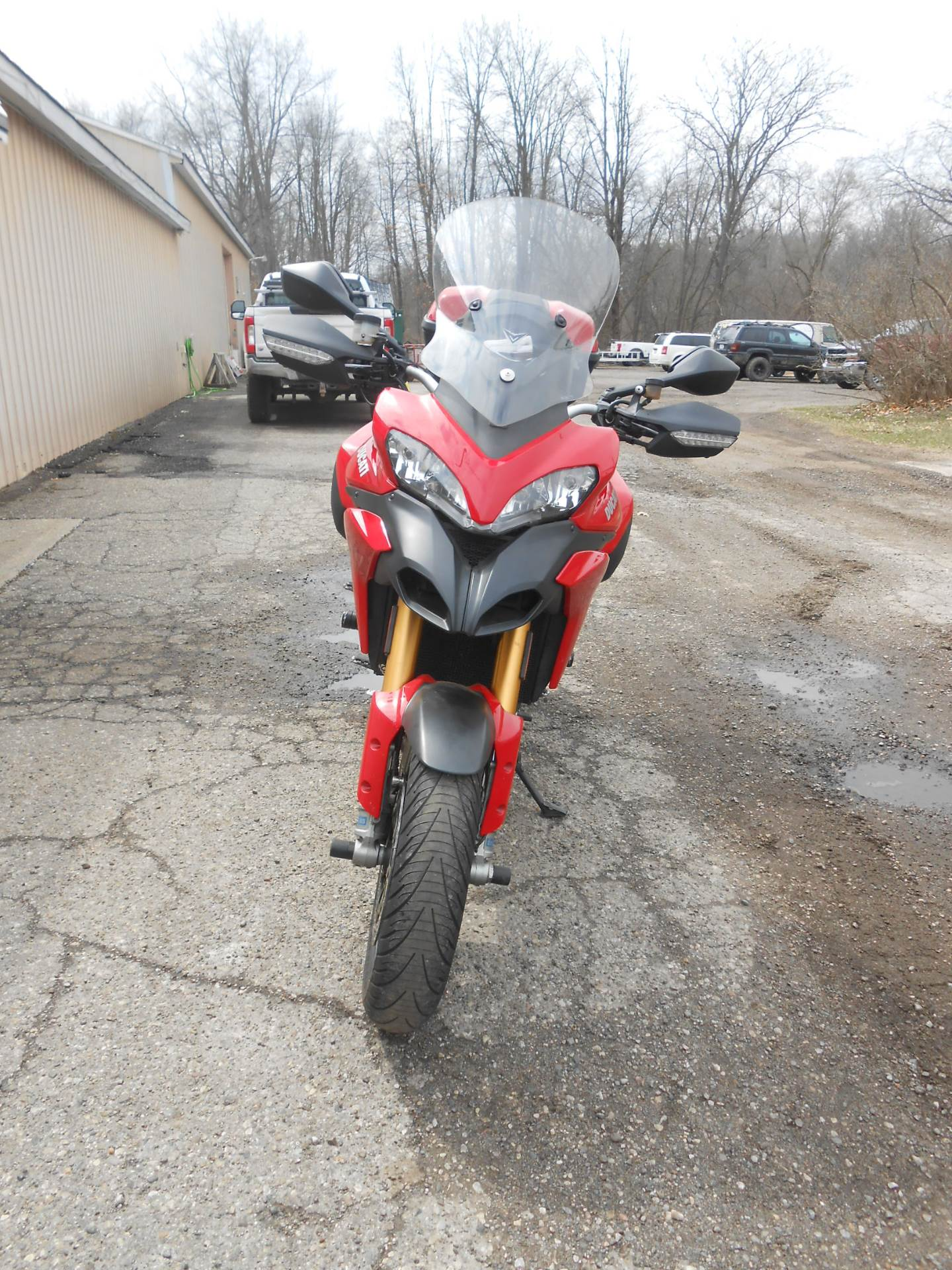 2011 Ducati Multistrada 1200 S Touring in Howell, Michigan - Photo 8