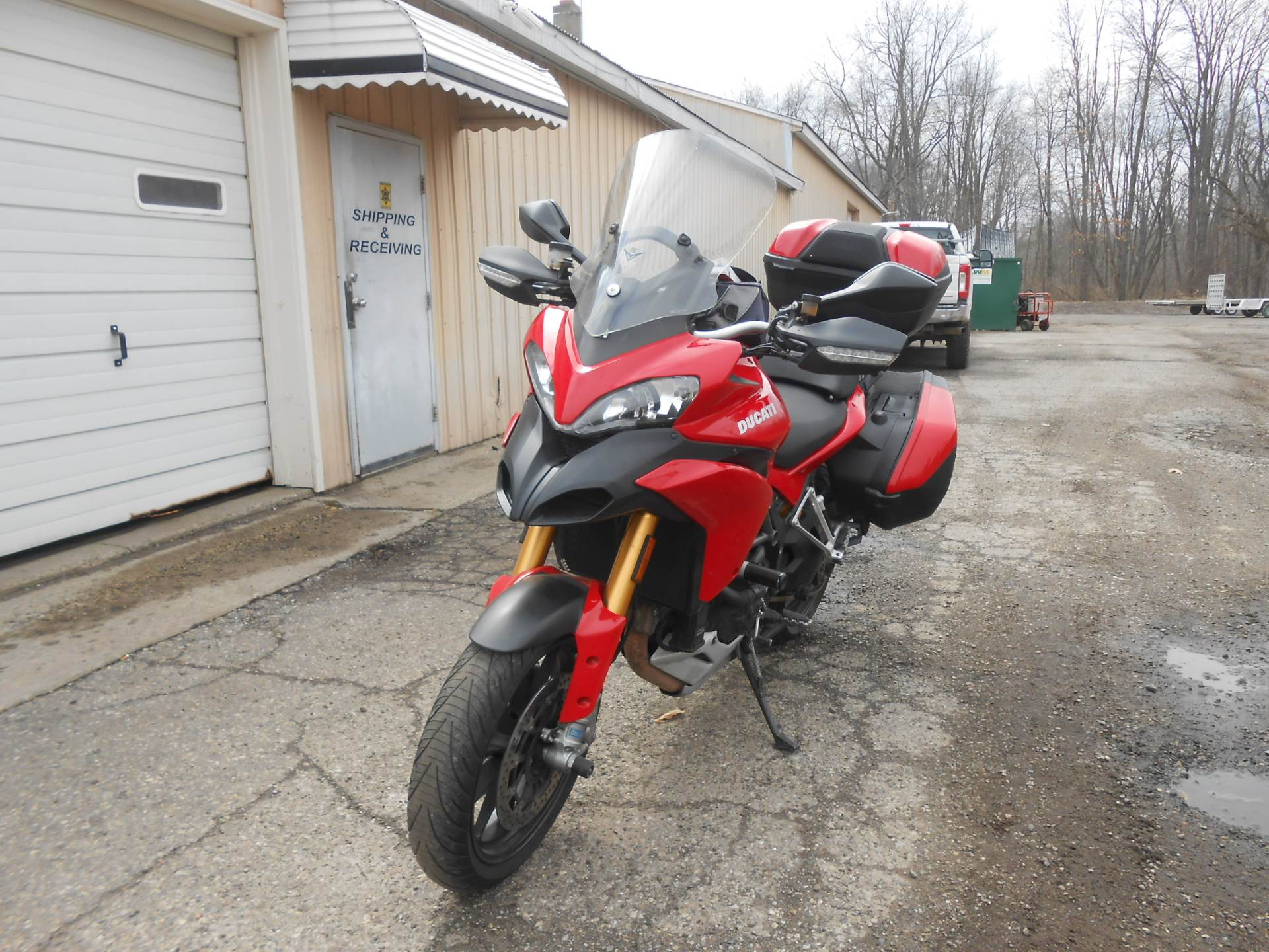 2011 Ducati Multistrada 1200 S Touring in Howell, Michigan - Photo 9