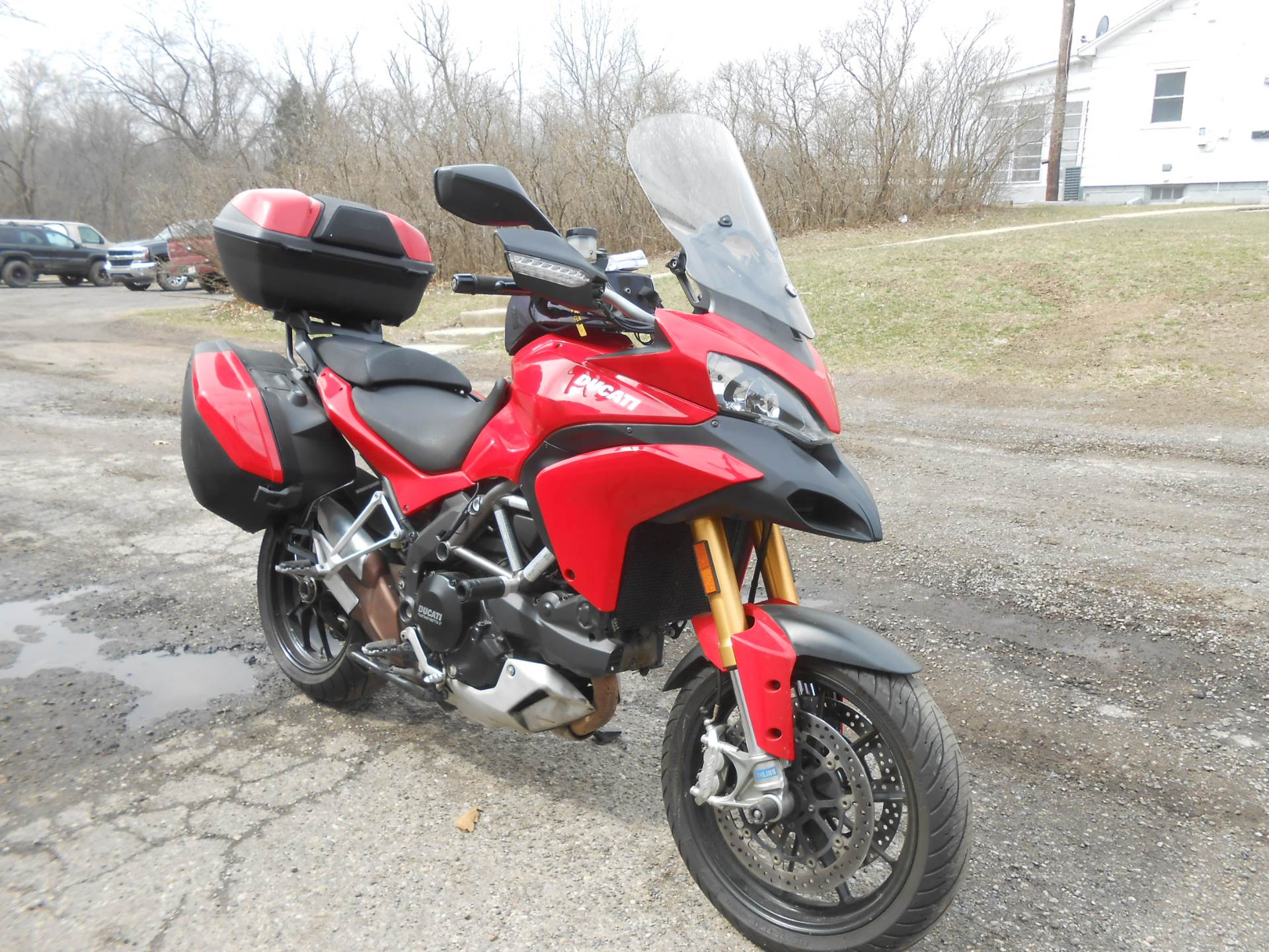 2011 Ducati Multistrada 1200 S Touring in Howell, Michigan - Photo 15