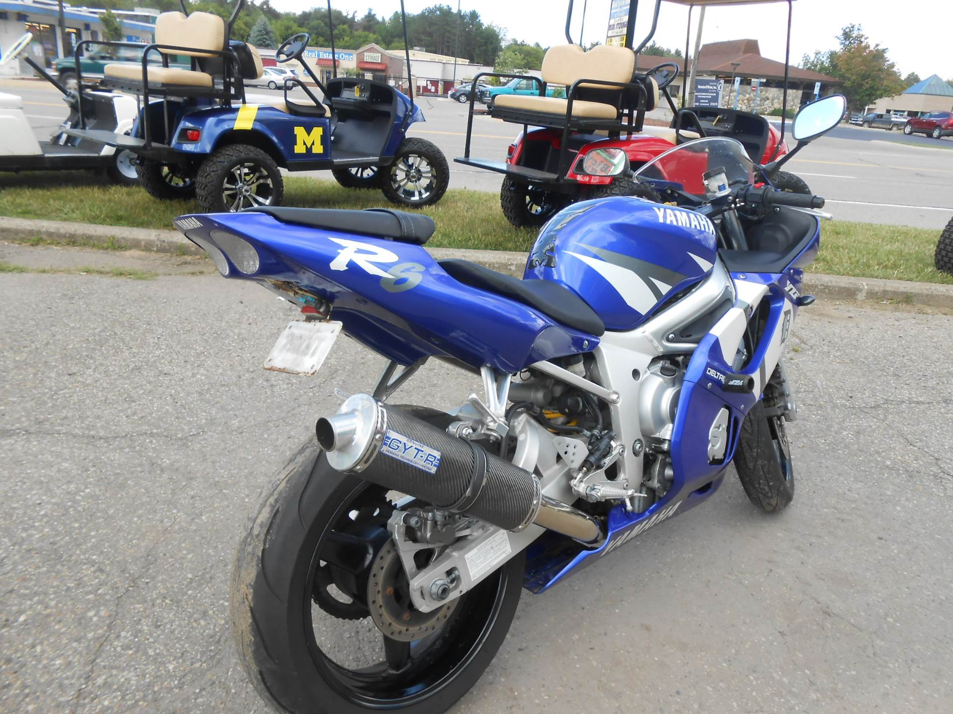 2002 Yamaha YZFR6 9