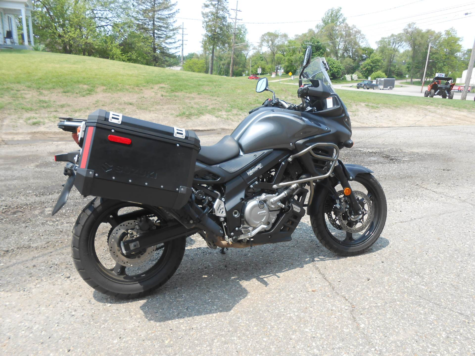 2013 Suzuki V-Strom 650 ABS Adventure in Howell, Michigan - Photo 12