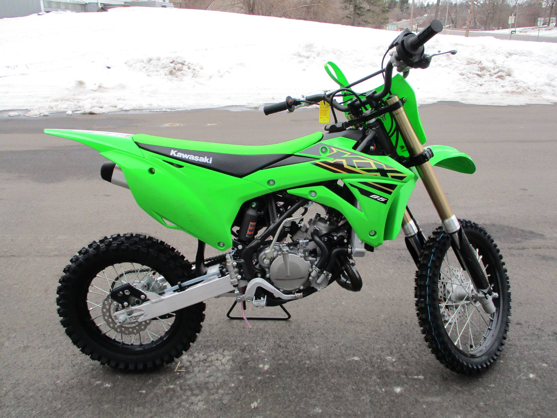2021 Kawasaki KX 85 in Howell, Michigan - Photo 11