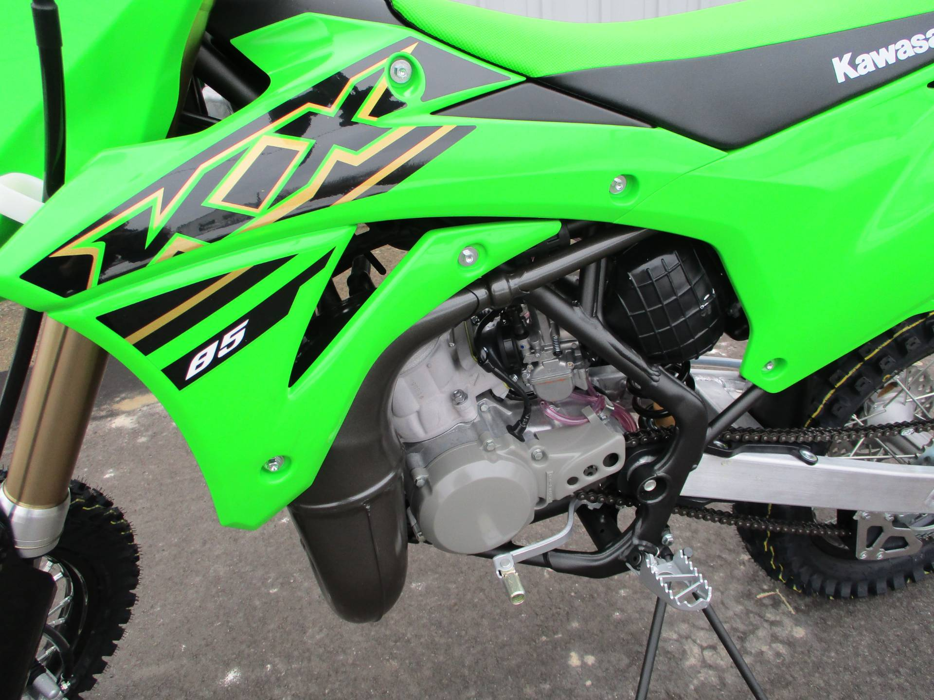2021 Kawasaki KX 85 in Howell, Michigan - Photo 4