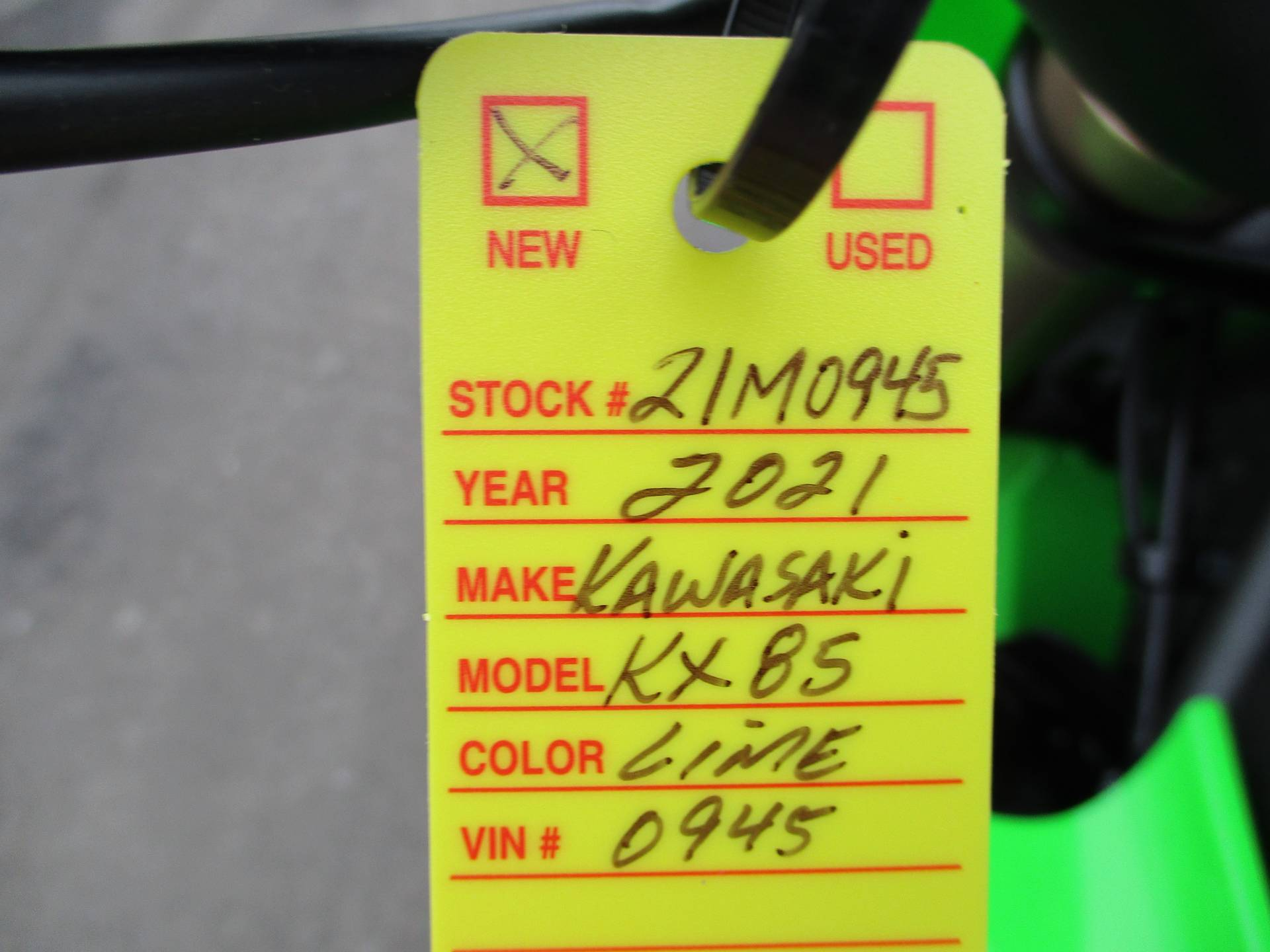 2021 Kawasaki KX 85 in Howell, Michigan - Photo 18