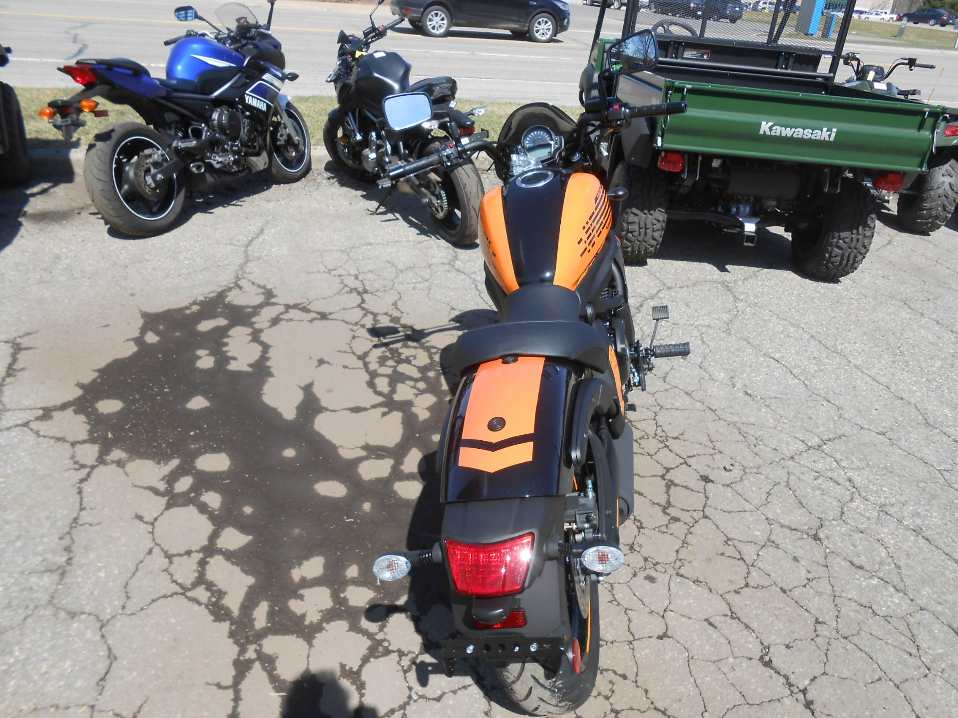 2019 Kawasaki Vulcan S ABS Café in Howell, Michigan - Photo 4