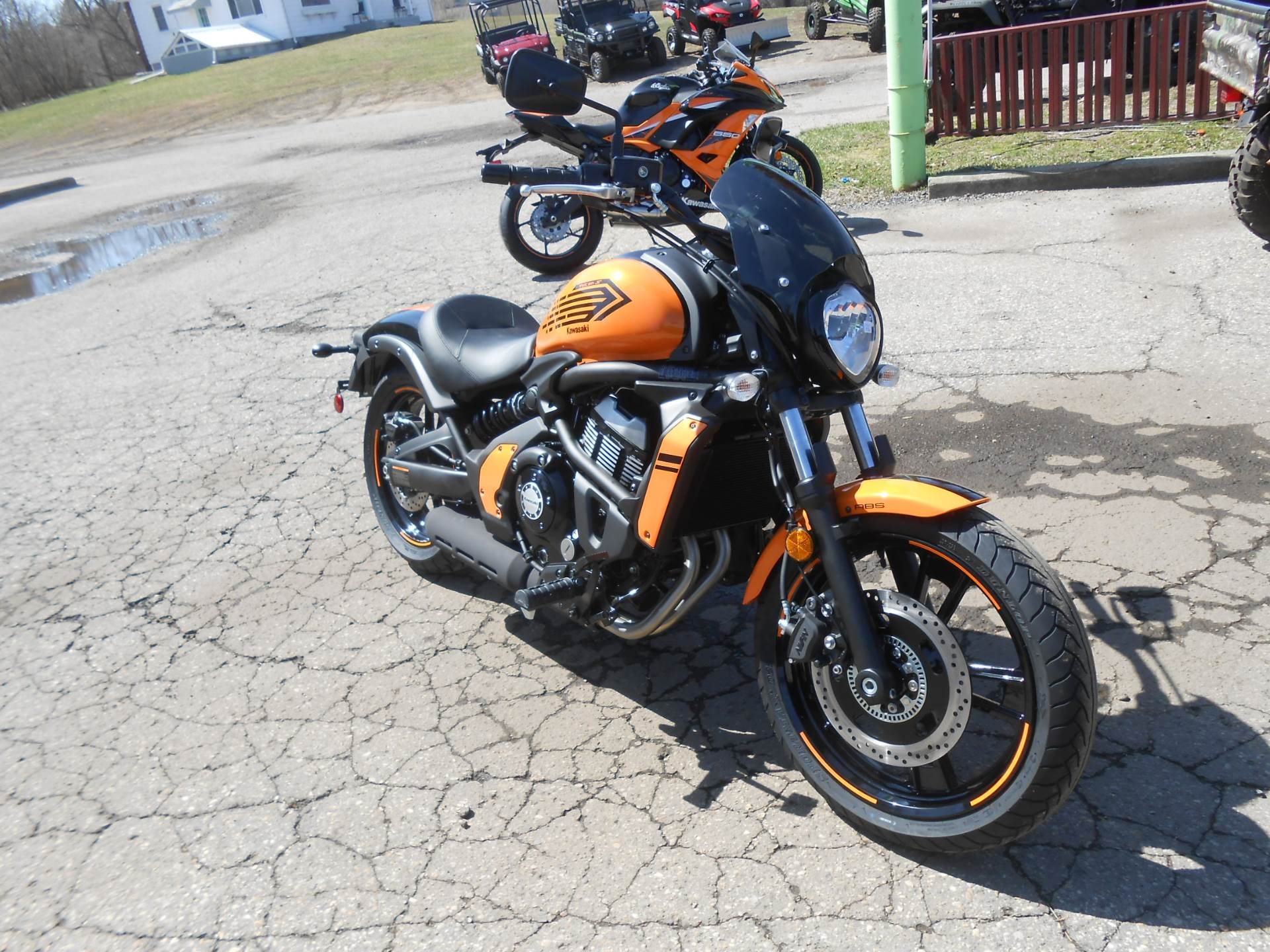 2019 Kawasaki Vulcan S ABS Café in Howell, Michigan - Photo 3