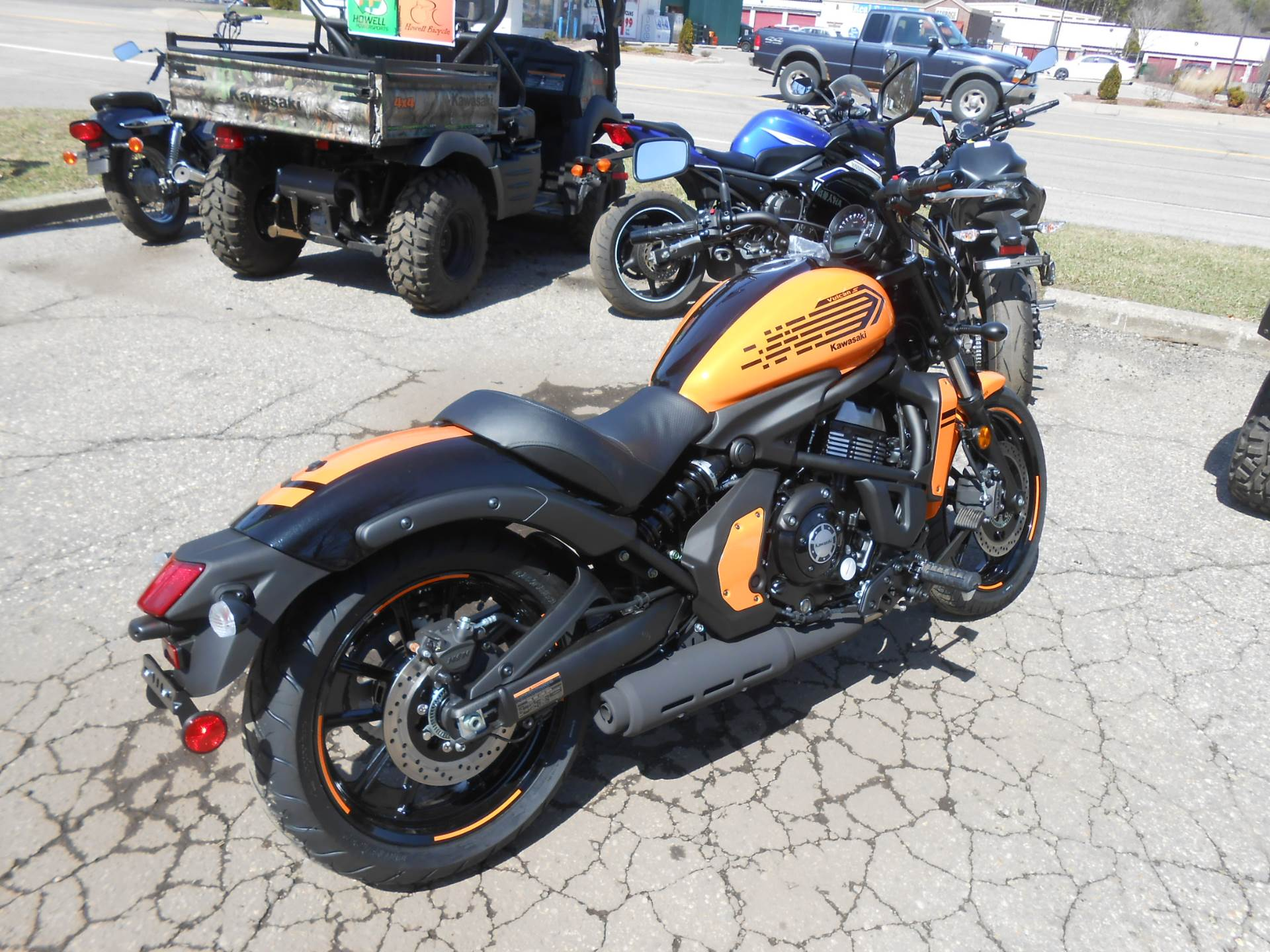 2019 Kawasaki Vulcan S ABS Café in Howell, Michigan