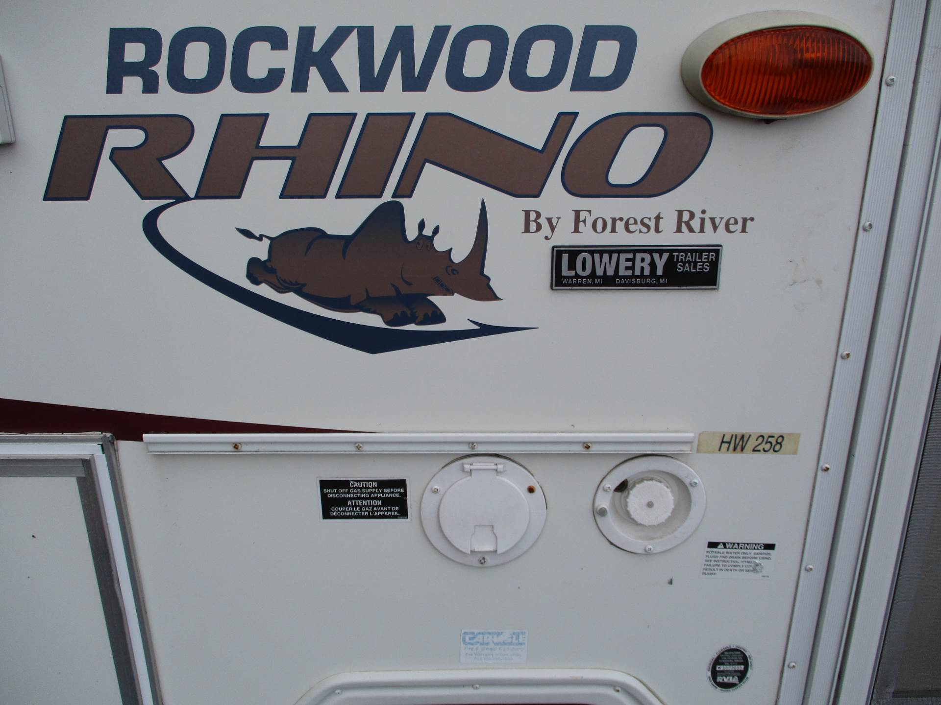 2006 Rockwood High Wall HW258 in Howell, Michigan - Photo 13