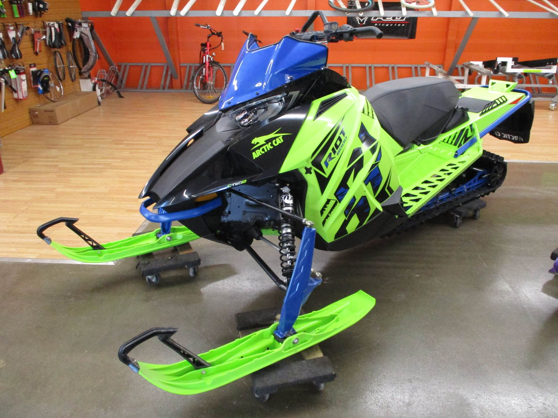 2020 Arctic Cat Riot 8000 1.35 ES in Howell, Michigan - Photo 2