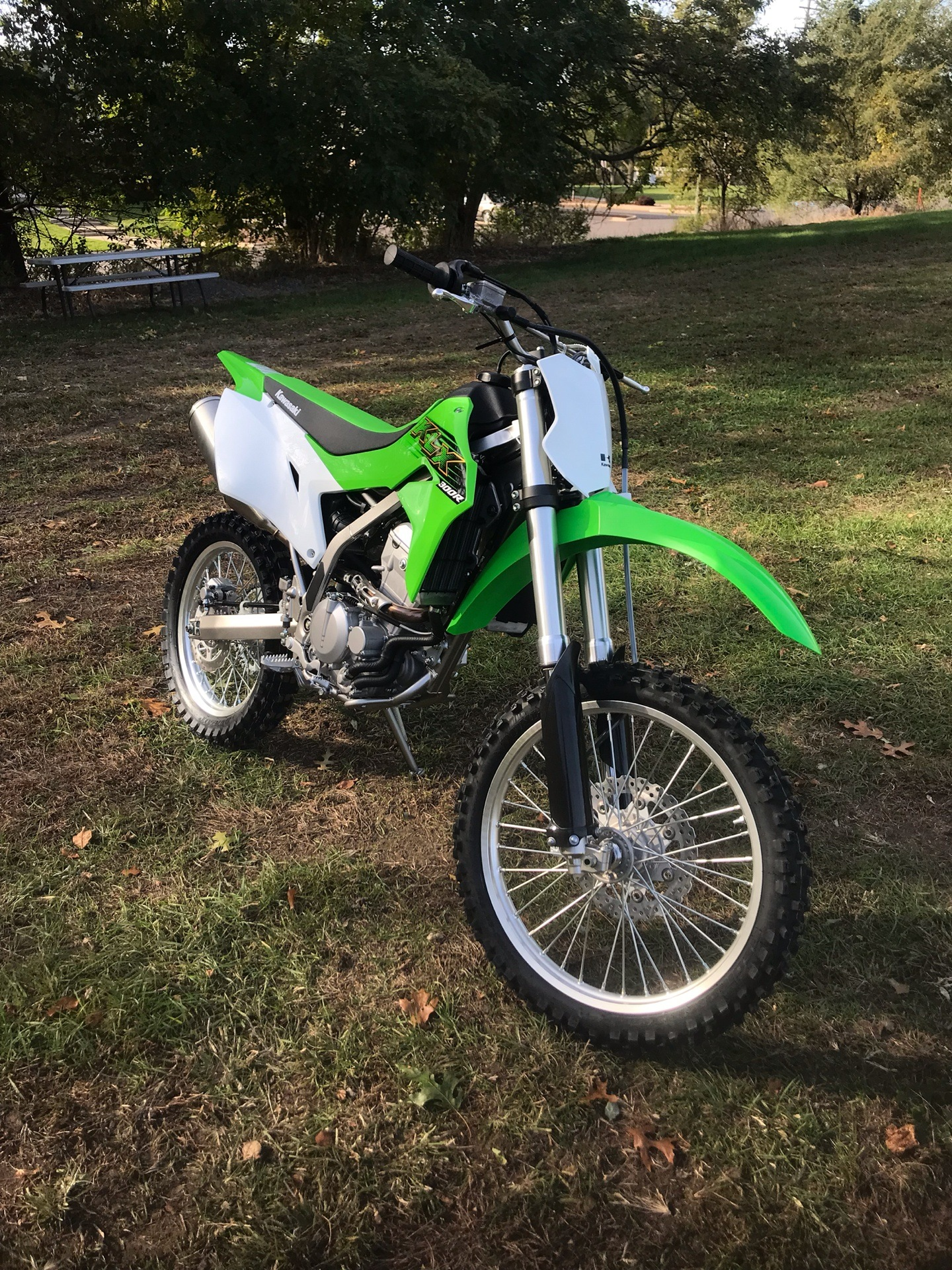 2020 Kawasaki KLX 300R in Howell, Michigan - Photo 2