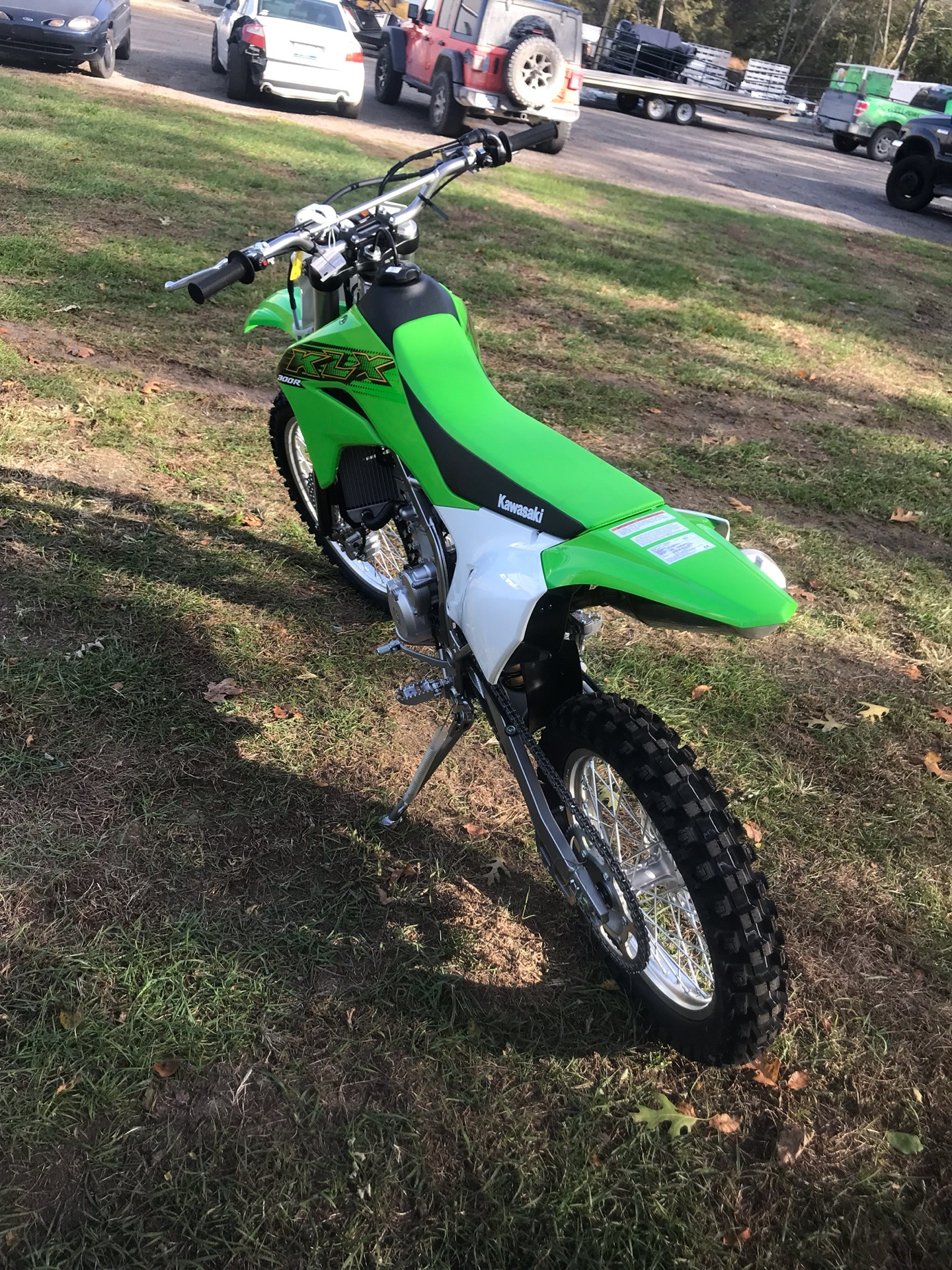 2020 Kawasaki KLX 300R in Howell, Michigan - Photo 6