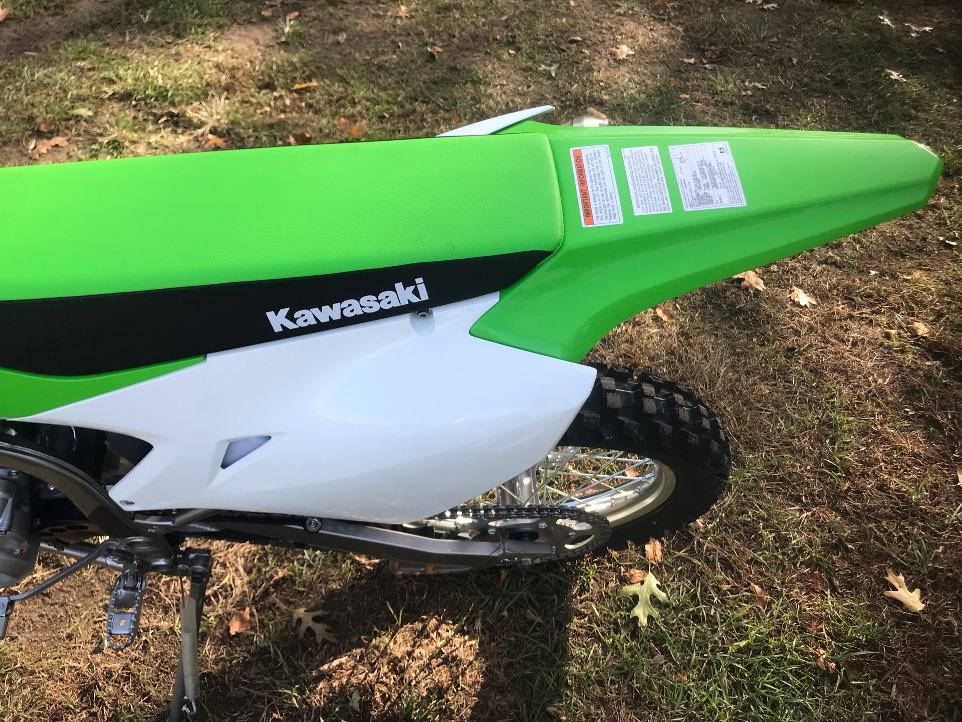 2020 Kawasaki KLX 300R in Howell, Michigan - Photo 7