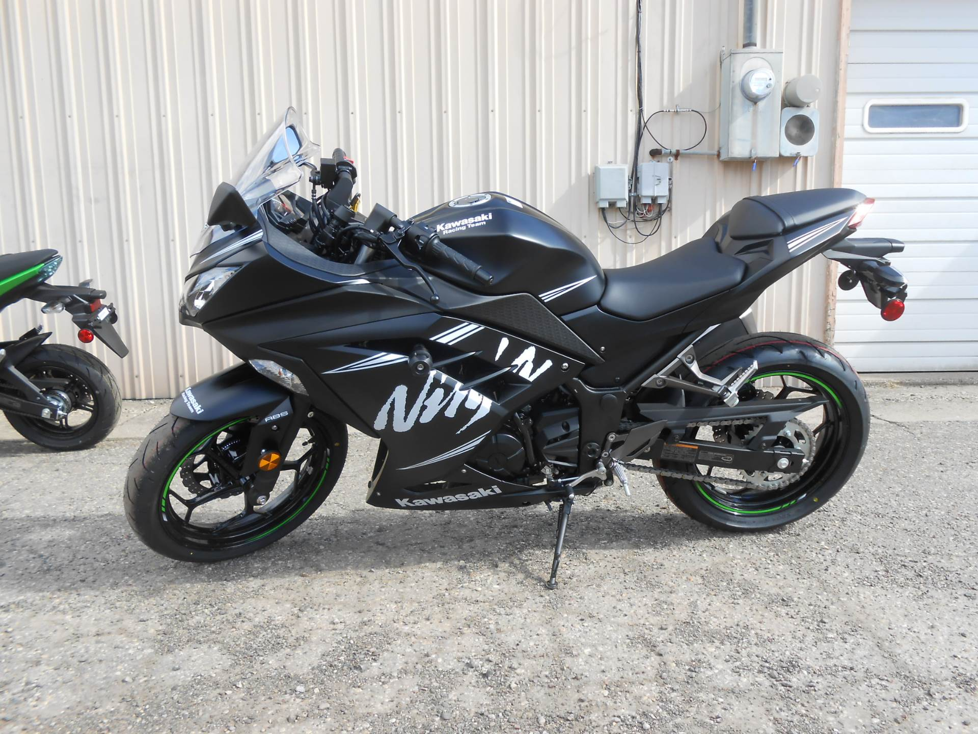 2017 Kawasaki Ninja 300 ABS Winter Test Edition in Howell, Michigan