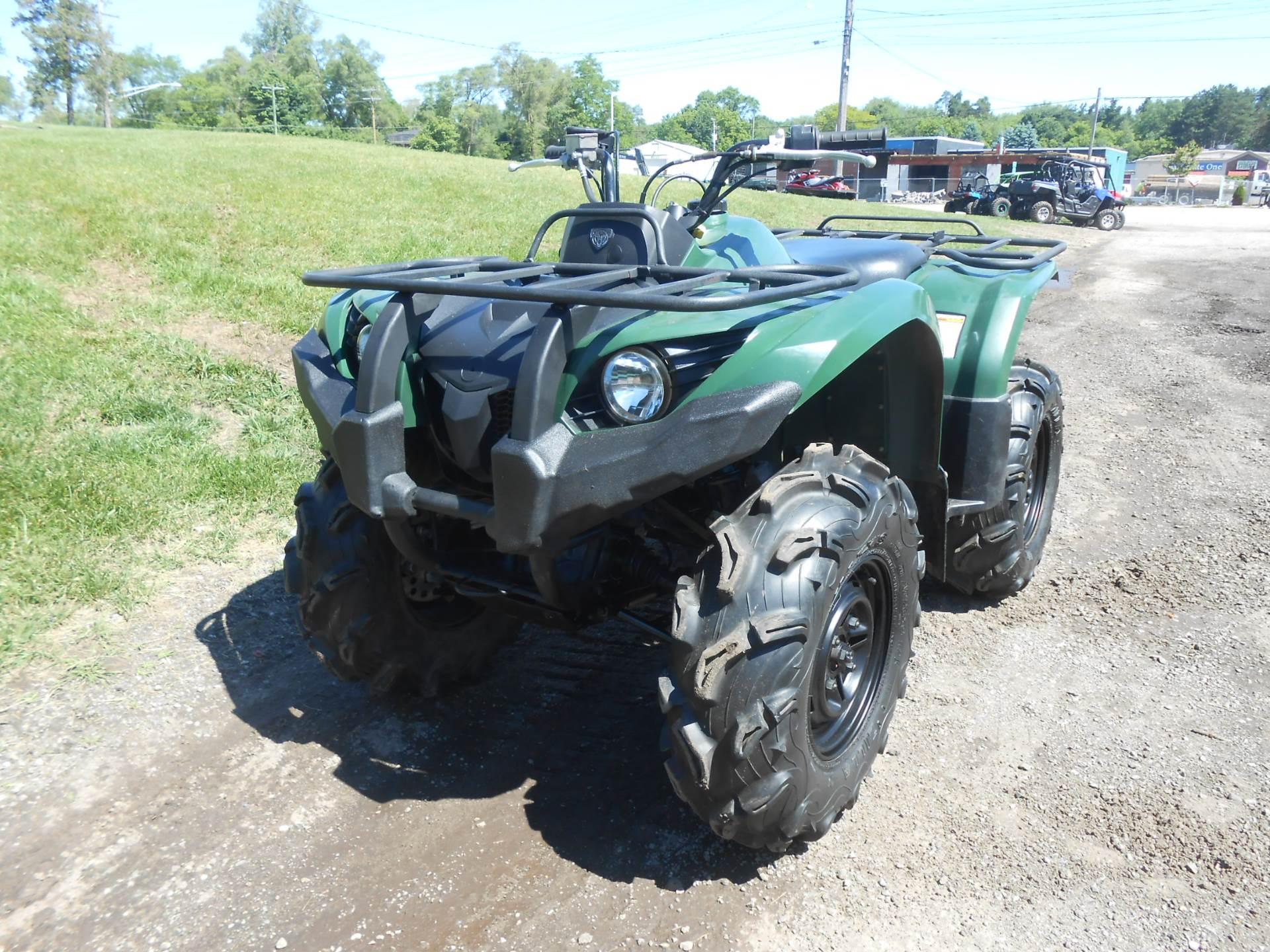 2012 Grizzly 450 Auto. 4x4