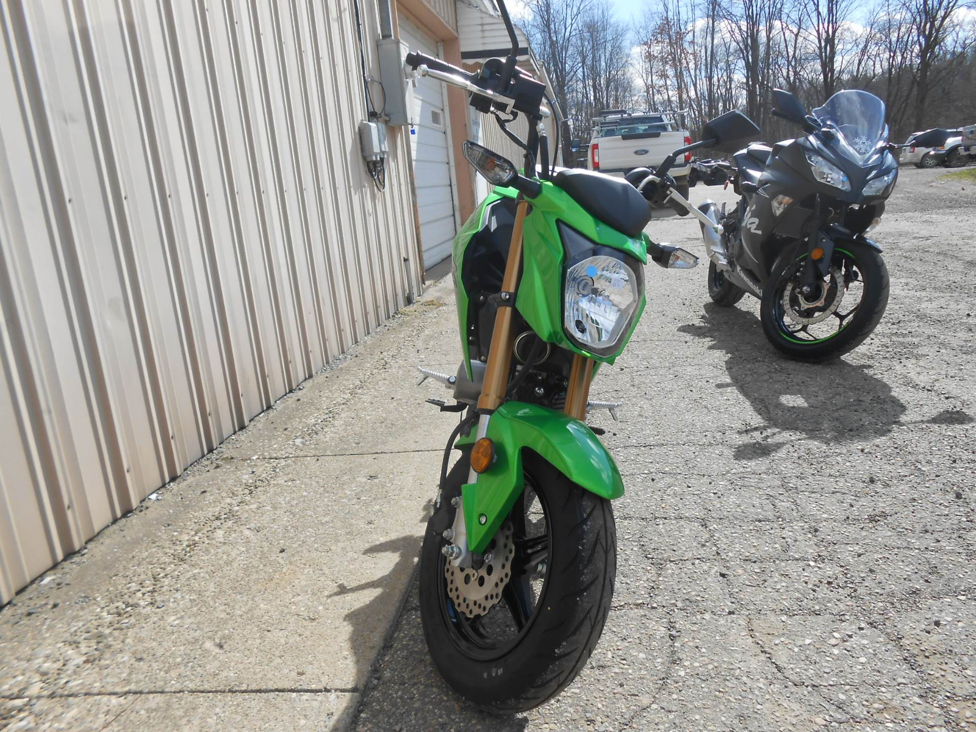 2017 Kawasaki Z125 Pro in Howell, Michigan