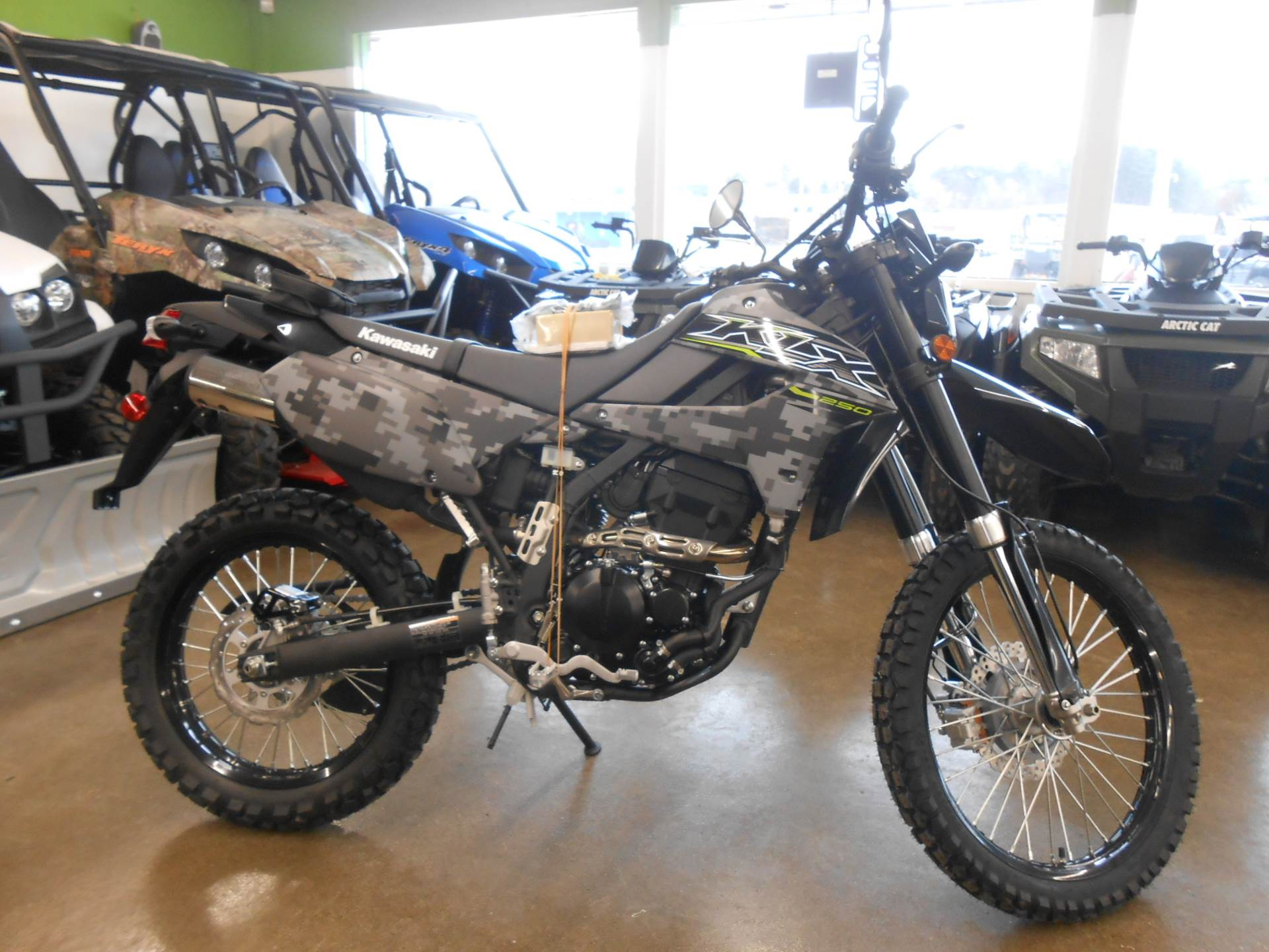 2019 Kawasaki KLX 250 Camo in Howell, Michigan - Photo 4