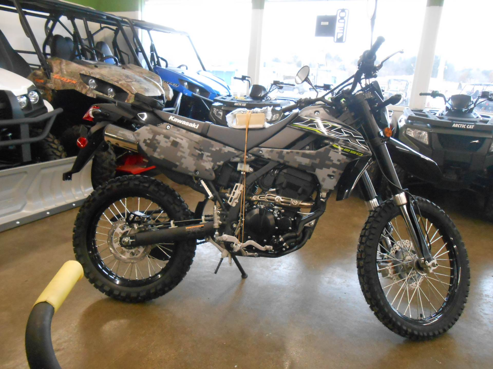 2019 Kawasaki KLX 250 Camo in Howell, Michigan