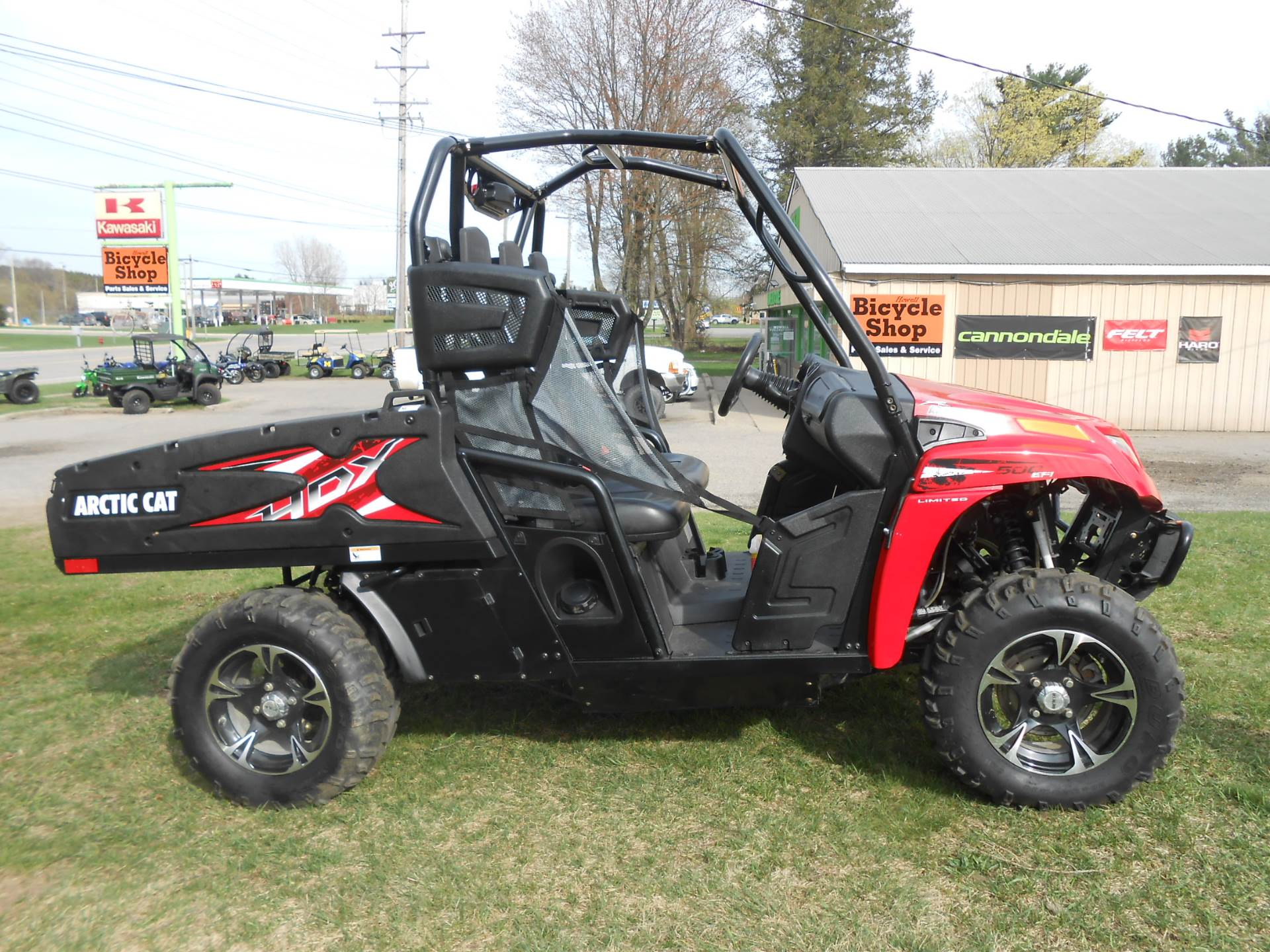 2014 Prowler 500 HDX Limited EPS
